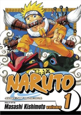 Naruto Vol. 1 : The tests of the Ninja    .